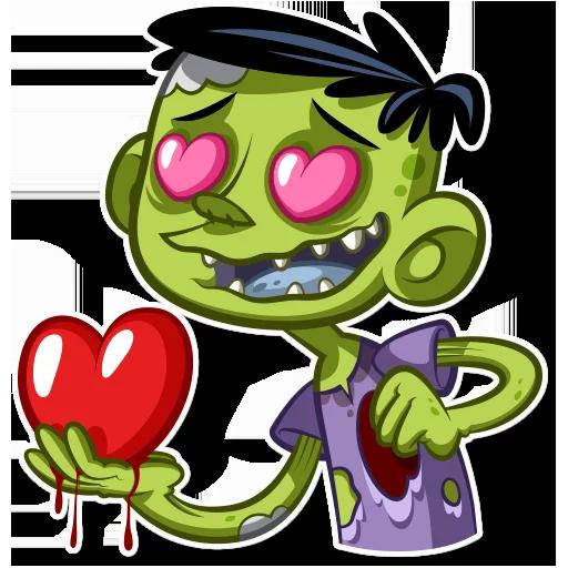 Zombie - Sticker 23