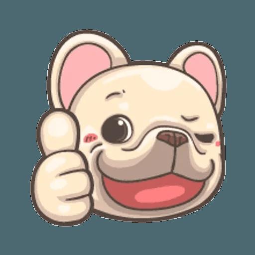 QQ dog - Sticker 10