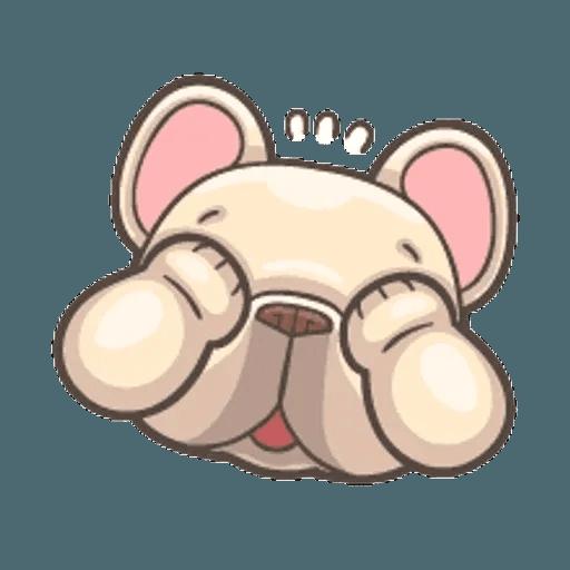QQ dog - Sticker 8