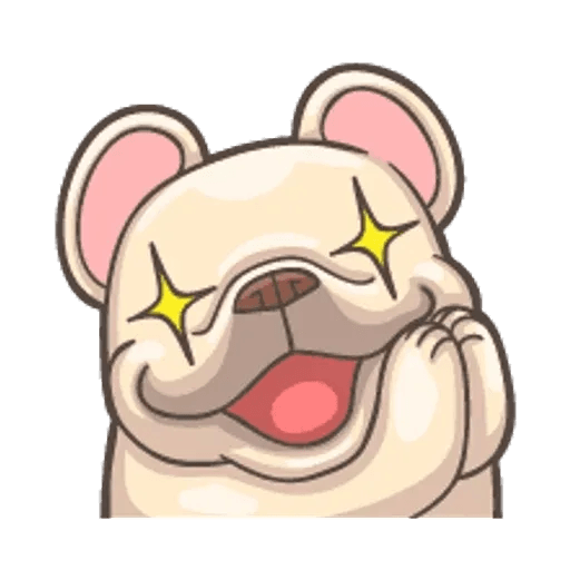 QQ dog - Sticker 16