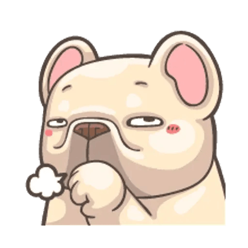 QQ dog - Sticker 12