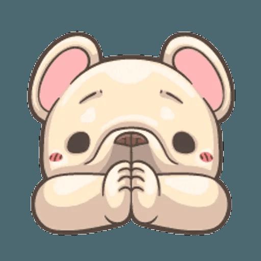QQ dog - Sticker 18