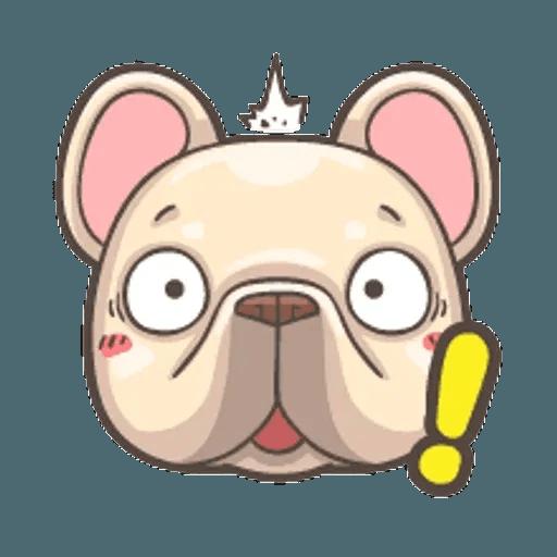QQ dog - Sticker 7