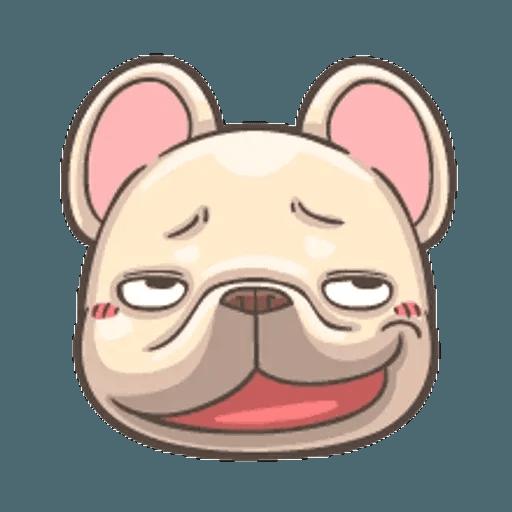 QQ dog - Sticker 9