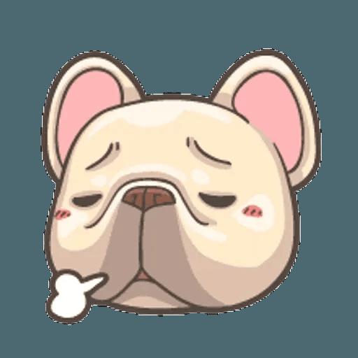 QQ dog - Sticker 17