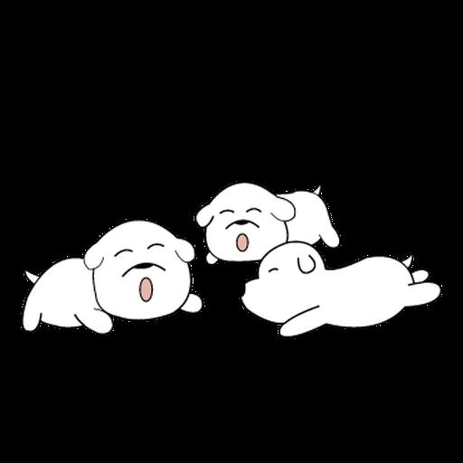 萌萌犬2 - Sticker 24