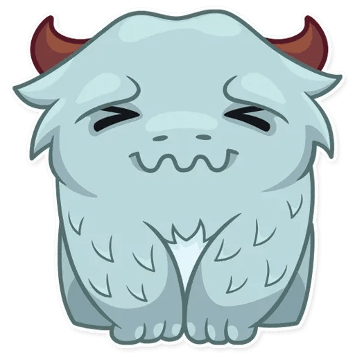 Fatty Yeti - Sticker 5