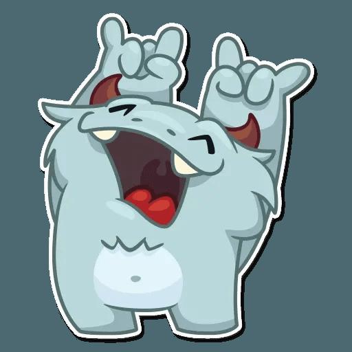 Fatty Yeti - Sticker 20