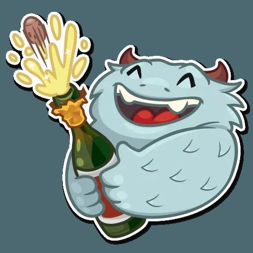 Fatty Yeti - Sticker 24