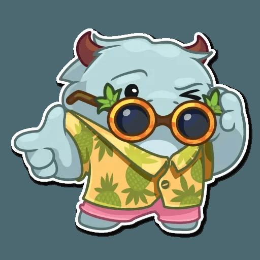 Fatty Yeti - Sticker 26