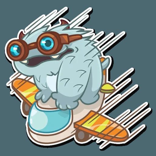 Fatty Yeti - Sticker 21
