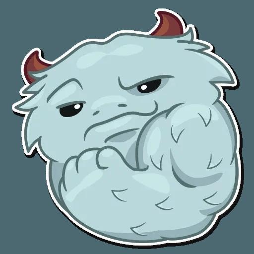 Fatty Yeti - Sticker 19
