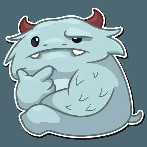 Fatty Yeti - Sticker 11