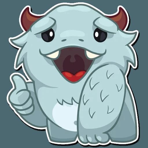 Fatty Yeti - Sticker 3