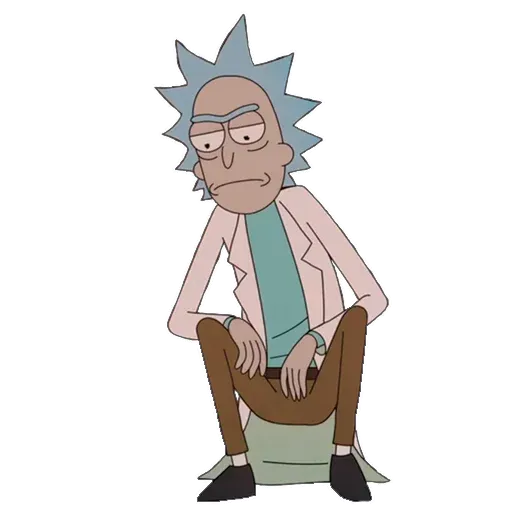 Rick and Morty - Sticker 3