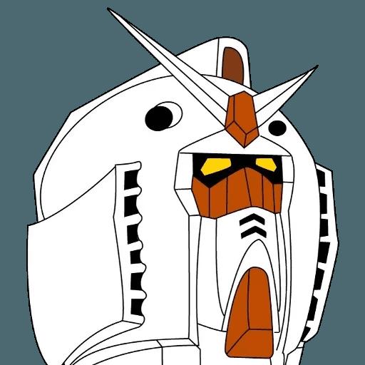 Gundam - Sticker 16
