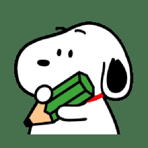 Snoopy 2 - Sticker 17