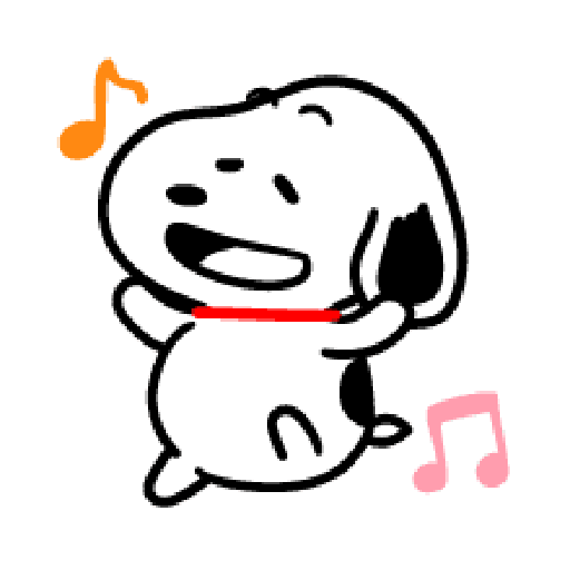 Snoopy 2 - Sticker 4
