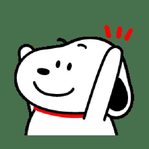 Snoopy 2 - Tray Sticker