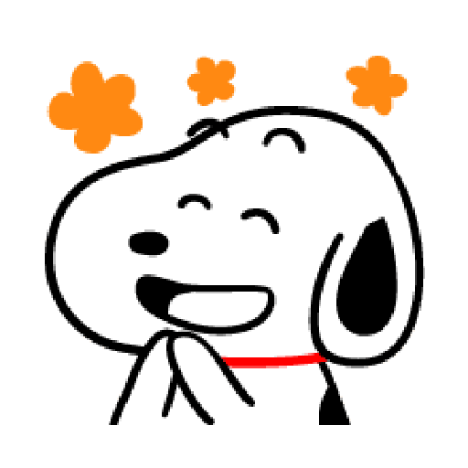 Snoopy 2 - Sticker 1