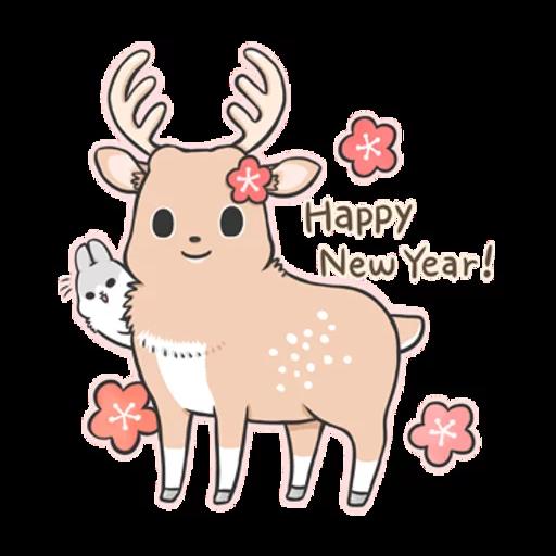 Machiko Christmas Pack - Sticker 27