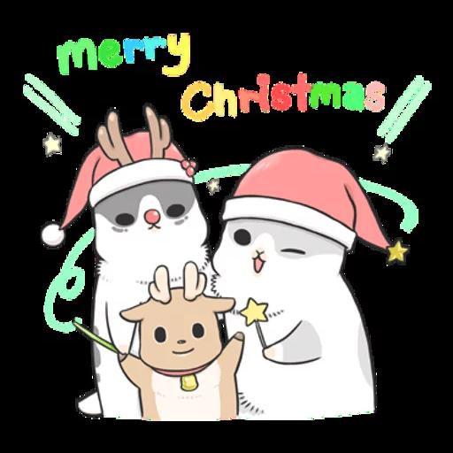 Machiko Christmas Pack - Sticker 16