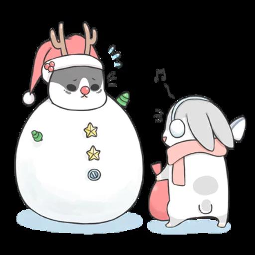 Machiko Christmas Pack - Sticker 15