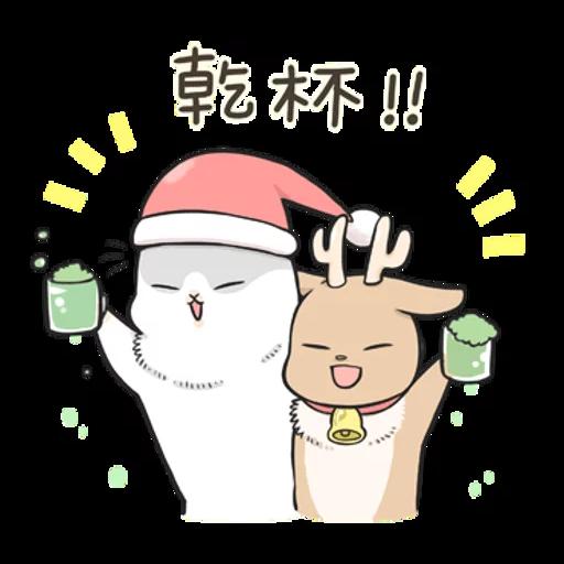 Machiko Christmas Pack - Sticker 13