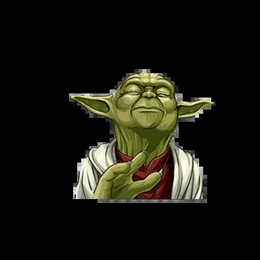 Master of Yoda - Sticker 4