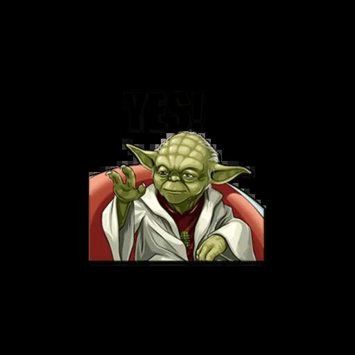 Master of Yoda - Sticker 2