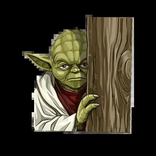 Master of Yoda - Sticker 3