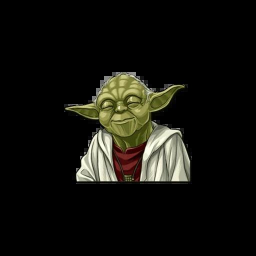 Master of Yoda - Sticker 1