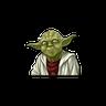 Master of Yoda - Tray Sticker