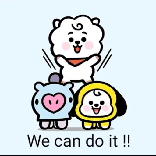 My BT21❤️❤️❤️ - Sticker 19