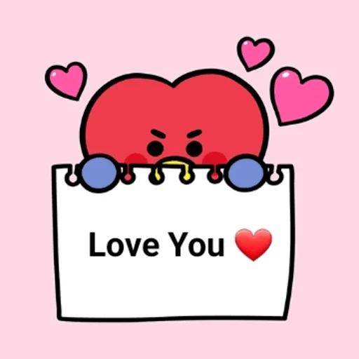 My BT21❤️❤️❤️ - Sticker 16
