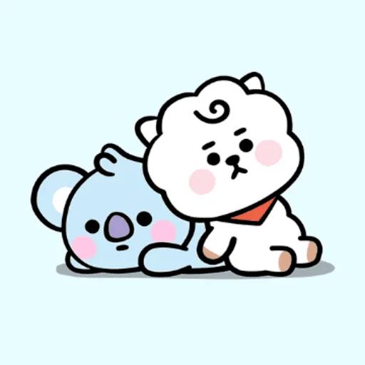My BT21❤️❤️❤️ - Sticker 10