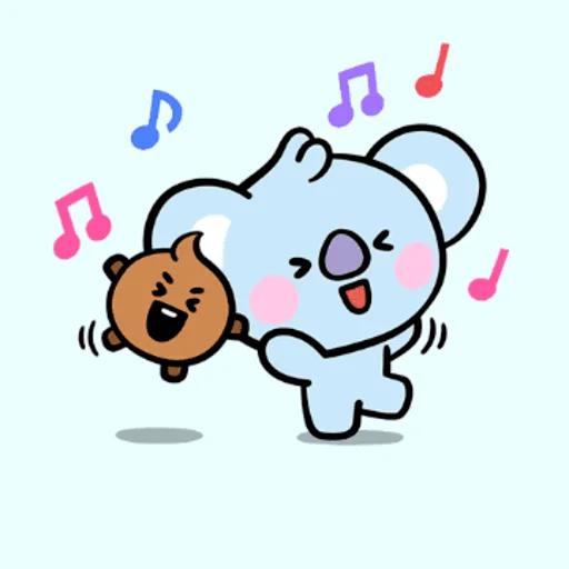 My BT21❤️❤️❤️ - Sticker 14