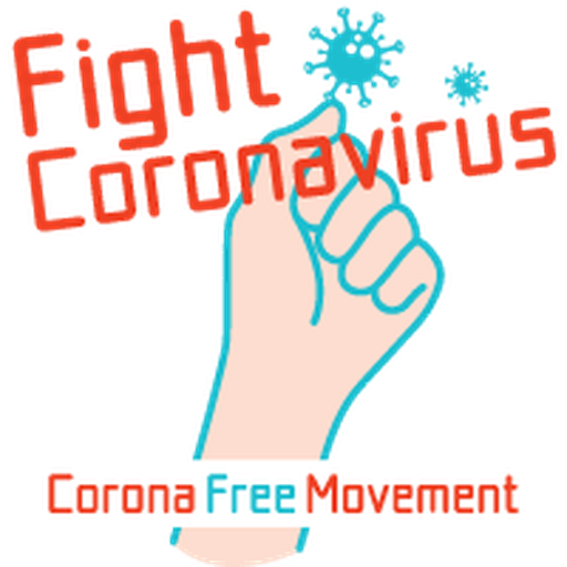 Corona Free Movement - Sticker 20