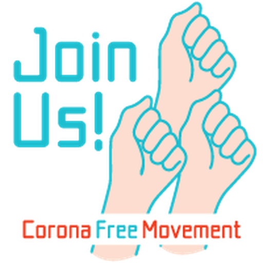 Corona Free Movement - Sticker 12