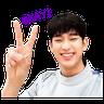 Kim Soo Hyun - Tray Sticker