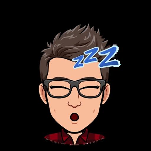 Goodnight - Tray Sticker