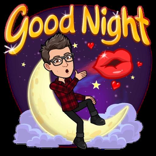 Goodnight - Sticker 4