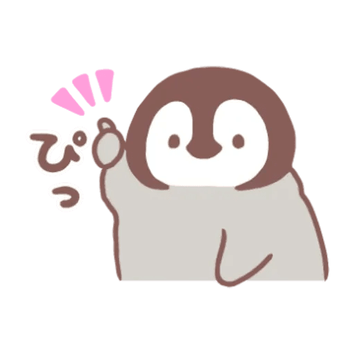 Penguin and Cat days - Sticker 4