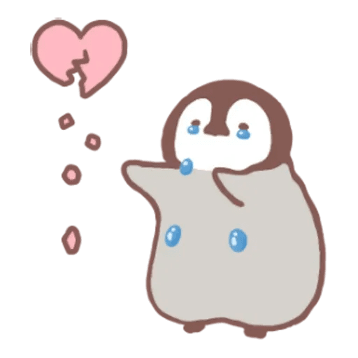 Penguin and Cat days - Sticker 20