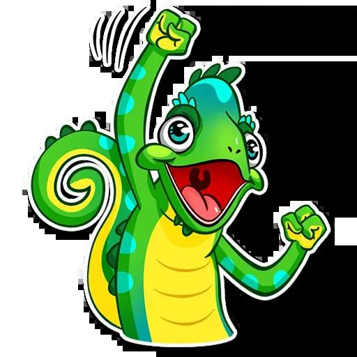Chameleon - Sticker 9