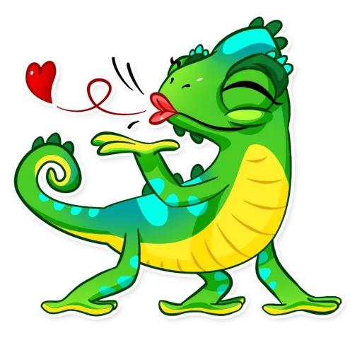 Chameleon - Sticker 3