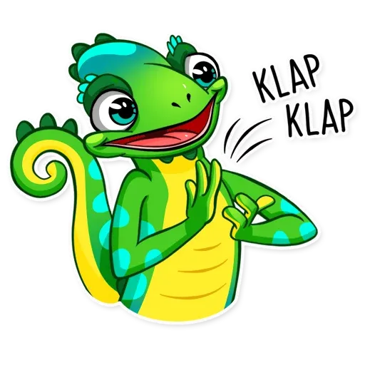 Chameleon - Sticker 25