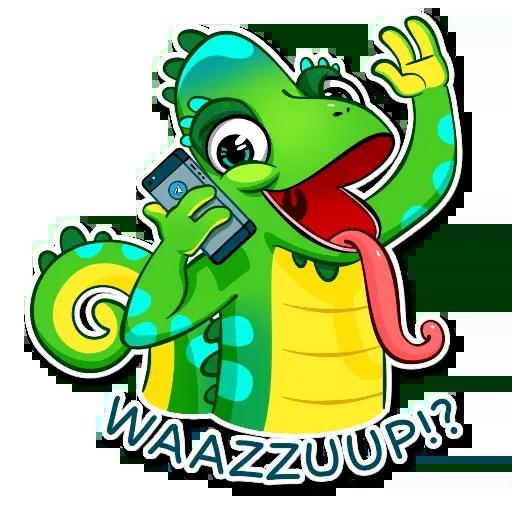 Chameleon - Sticker 29