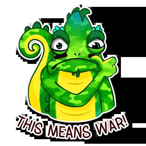 Chameleon - Sticker 23