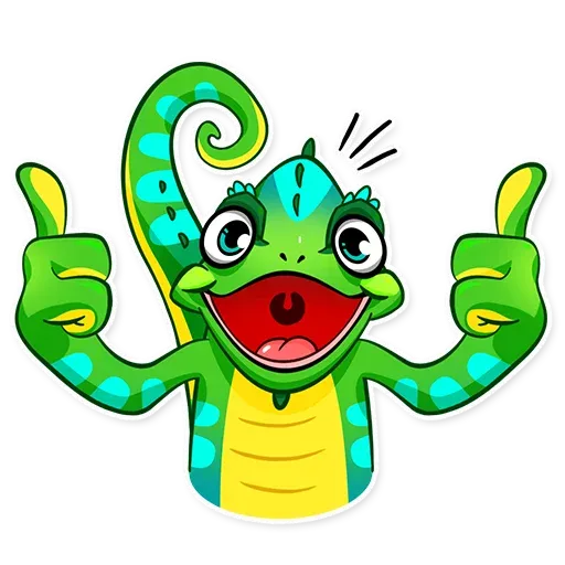 Chameleon - Sticker 4